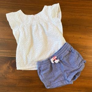 Cat & Jack Toddler Girl's Outfit